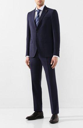 Мужской шерстяной костюм SARTORIA LATORRE синего цвета, арт. A6I7EF U70781 | Фото 1