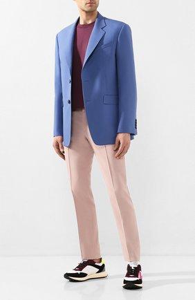 Мужской шерстяной пиджак GIVENCHY синего цвета, арт. BM307G12K4 | Фото 2