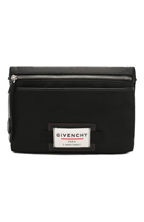 Мужская текстильная сумка downtown GIVENCHY черного цвета, арт. BK5063K0S9 | Фото 1