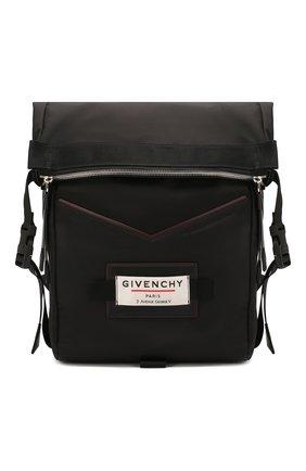 Мужской текстильный рюкзак downtown GIVENCHY черного цвета, арт. BK505TK0S9 | Фото 1