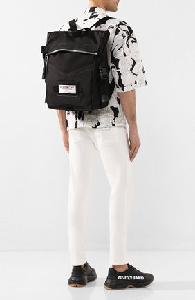 Мужской текстильный рюкзак downtown GIVENCHY черного цвета, арт. BK505TK0S9 | Фото 2