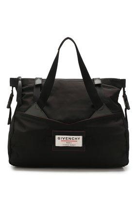 Мужская текстильная дорожная сумка downtown GIVENCHY черного цвета, арт. BK505JK0S9 | Фото 1