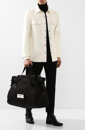 Мужская текстильная дорожная сумка downtown GIVENCHY черного цвета, арт. BK505JK0S9 | Фото 2