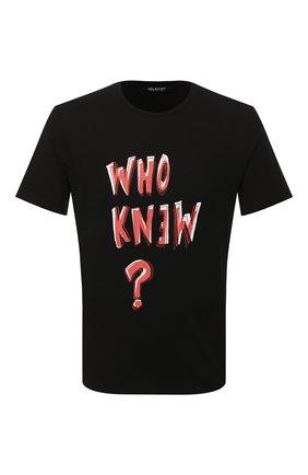 Мужская футболка NEIL BARRETT черного цвета, арт. BJT714S/N572S | Фото 1