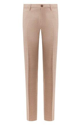 Мужской шерстяные брюки ZILLI светло-коричневого цвета, арт. M0T-40-38N-C6016/0001 | Фото 1