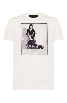 Мужская хлопковая футболка LIMITATO белого цвета, арт. THE CLINIC/T-SHIRT | Фото 1