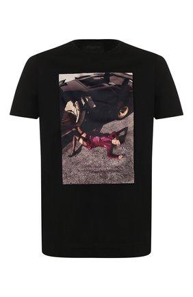 Мужская хлопковая футболка LIMITATO черного цвета, арт. MERCY/T-SHIRT | Фото 1