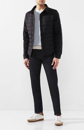 Мужская пуховая куртка jackson CANADA GOOSE черного цвета, арт. 2218MB | Фото 2