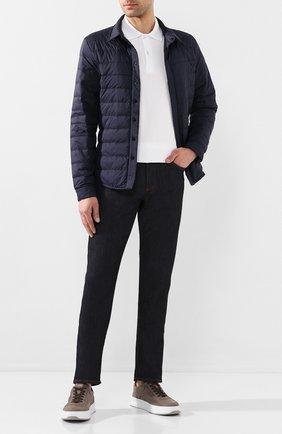 Мужская пуховая куртка jackson CANADA GOOSE темно-синего цвета, арт. 2218MB | Фото 2