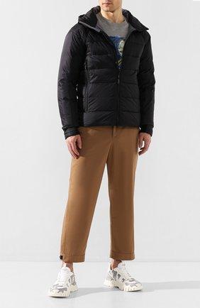 Мужская пуховая куртка hybridge base CANADA GOOSE синего цвета, арт. 2729M | Фото 2
