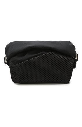 Мужская текстильная поясная сумка BOTTEGA VENETA черного цвета, арт. 619053/VCQ21 | Фото 1