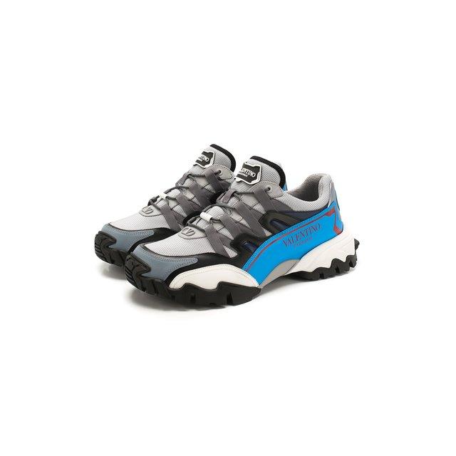 Комбинированные кроссовки Valentino Garavani Climbers Valentino — Комбинированные кроссовки Valentino Garavani Climbers