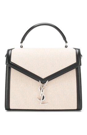 Женская сумка cassandra medium SAINT LAURENT черного цвета, арт. 578000/HZD2N | Фото 1