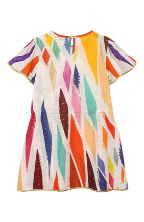 Детская туника MISSONI разноцветного цвета, арт. MBG00059/BW005P/4-6   Фото 2