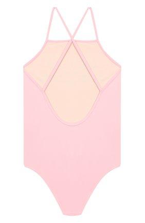 Детского слитный купальник GUCCI розового цвета, арт. 554364/XJAS0   Фото 2