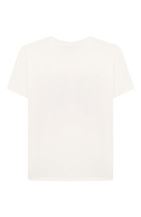 Детская хлопковая футболка GUCCI белого цвета, арт. 547865/XJB4Z | Фото 2