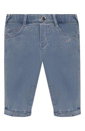 Детские джинсы EMPORIO ARMANI голубого цвета, арт. 3HEJ23/3D0VZ | Фото 1