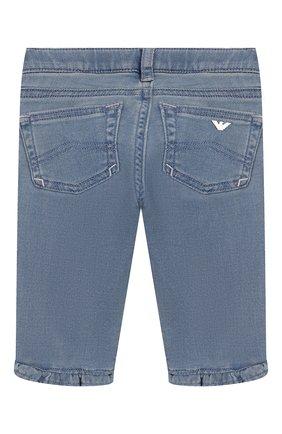 Детские джинсы EMPORIO ARMANI голубого цвета, арт. 3HEJ23/3D0VZ | Фото 2
