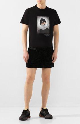 Мужские шорты LIMITATO черного цвета, арт. ACE/SH0RT   Фото 2