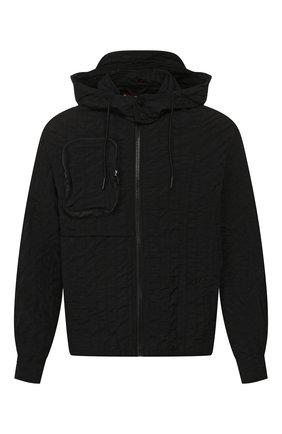 Мужская куртка diesel red tag x a-cold-wall* DIESEL RED TAG черного цвета, арт. ACW-SH03 | Фото 1