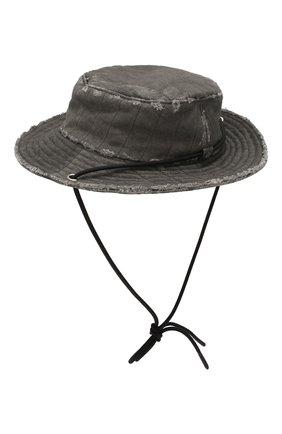 Мужская хлопковая шляпа diesel red tag x a-cold-wall* DIESEL RED TAG темно-серого цвета, арт. ACW-CAP01 | Фото 2