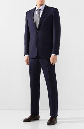 Мужская хлопковая сорочка ETON голубого цвета, арт. 1000 01092 | Фото 2