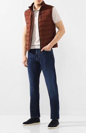 Мужские джинсы CANALI темно-синего цвета, арт. 91700R/PD00623   Фото 2
