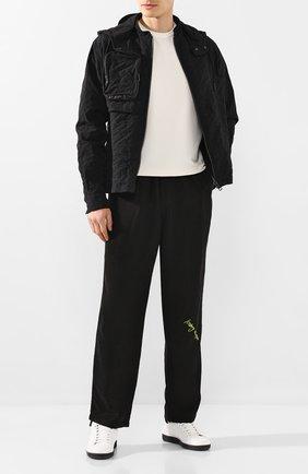 Мужской брюки ICEBERG черного цвета, арт. 20E I1P0/B080/5523   Фото 2