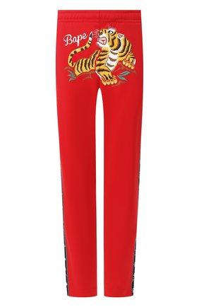 Мужской брюки BAPE красного цвета, арт. 1G30152010 | Фото 1