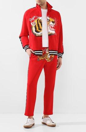 Мужской брюки BAPE красного цвета, арт. 1G30152010 | Фото 2