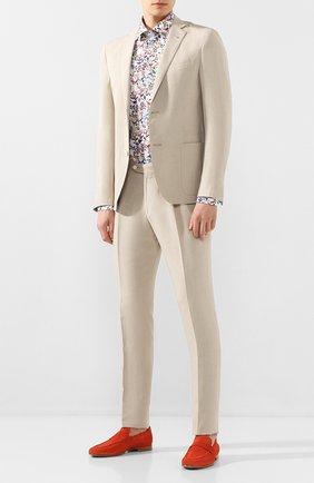 Мужская хлопковая сорочка VAN LAACK разноцветного цвета, арт. RET-SF/171475 | Фото 2