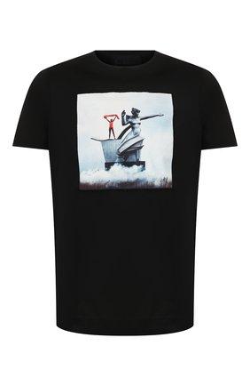 Мужская хлопковая футболка LIMITATO черного цвета, арт. S0VIET/T-SHIRT | Фото 1