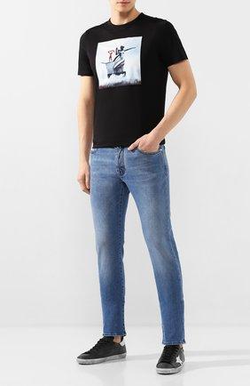 Мужская хлопковая футболка LIMITATO черного цвета, арт. S0VIET/T-SHIRT | Фото 2