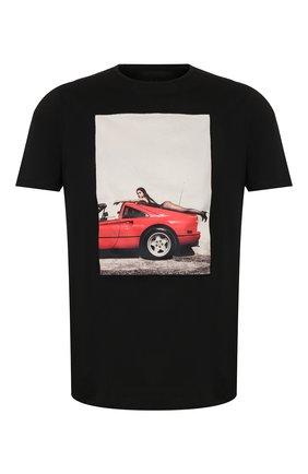 Мужская хлопковая футболка LIMITATO черного цвета, арт. HANG L00SE/T-SHIRT | Фото 1