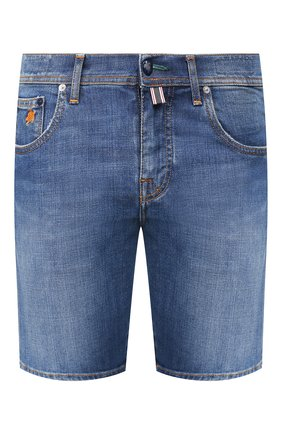 Мужские джинсовые шорты VILEBREQUIN синего цвета, арт. VBMST0002-00583-W2   Фото 1