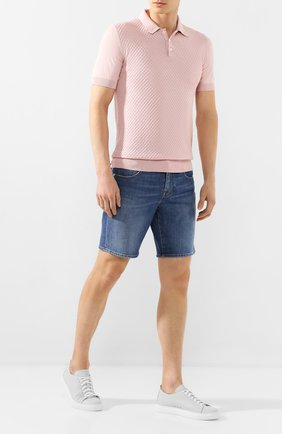 Мужские джинсовые шорты VILEBREQUIN синего цвета, арт. VBMST0002-00583-W2   Фото 2
