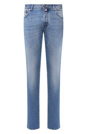 Мужские джинсы VILEBREQUIN голубого цвета, арт. VBMP0001-01974-W2 | Фото 1