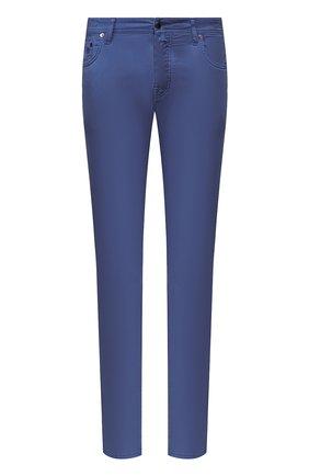 Мужской брюки VILEBREQUIN синего цвета, арт. VBMP0001-01870-S   Фото 1