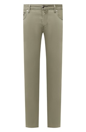 Мужской брюки VILEBREQUIN хаки цвета, арт. VBMP0001-01870-S   Фото 1