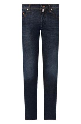 Мужские джинсы VILEBREQUIN темно-синего цвета, арт. VBMP0001-00583-W1 | Фото 1
