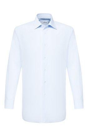 Мужская хлопковая сорочка BRIONI светло-голубого цвета, арт. RCLU36/PZ005   Фото 1