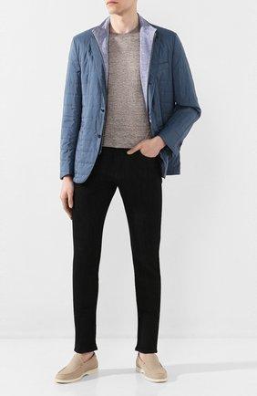 Мужские джинсы CORNELIANI черного цвета, арт. 854JK2-0120163/00 | Фото 2
