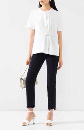 Женская хлопковая футболка MARKUS LUPFER белого цвета, арт. TEE353 | Фото 2