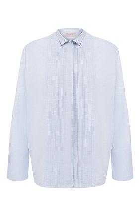 Женская хлопковая рубашка MRZ голубого цвета, арт. S20-0233 | Фото 1