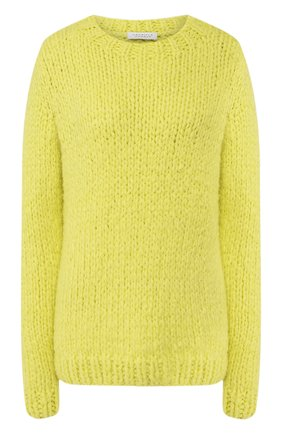Женская кашемировый свитер GABRIELA HEARST желтого цвета, арт. 320945 A011 | Фото 1