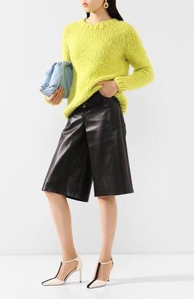Женская кашемировый свитер GABRIELA HEARST желтого цвета, арт. 320945 A011 | Фото 2
