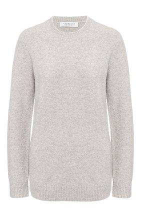Женская свитер из смеси кашемира и шелка GABRIELA HEARST серого цвета, арт. 320941 A021 | Фото 1
