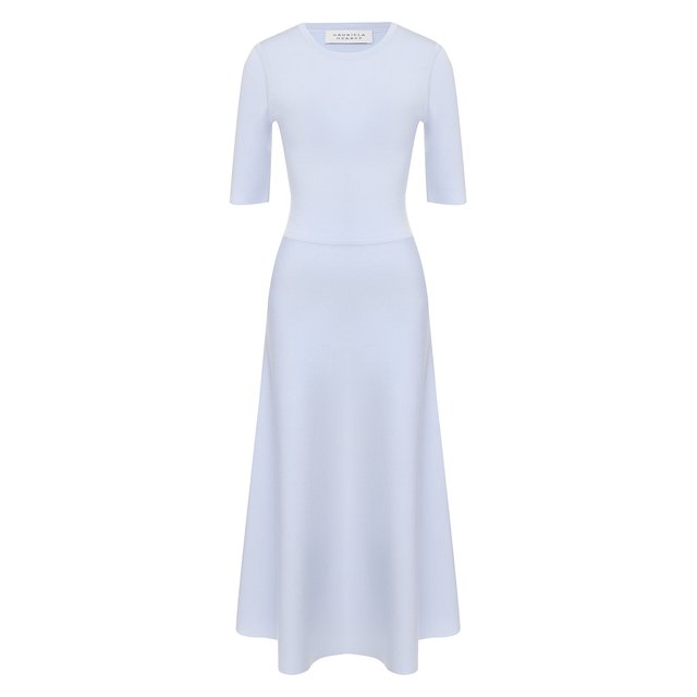 Платье из смеси шерсти и кашемира Gabriela Hearst