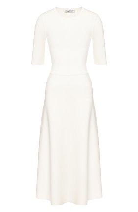 Женское платье из смеси шерсти и кашемира GABRIELA HEARST белого цвета, арт. 320917 A004 | Фото 1