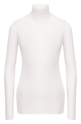 Женская водолазка из смеси кашемира и шелка GABRIELA HEARST белого цвета, арт. 320903 A003 | Фото 1